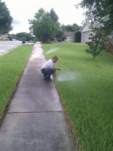 A Sprinkler Repair in Grand Prairie by a licensed professional