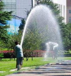 we add decorative and interactive sprinklers in Grand Prairie